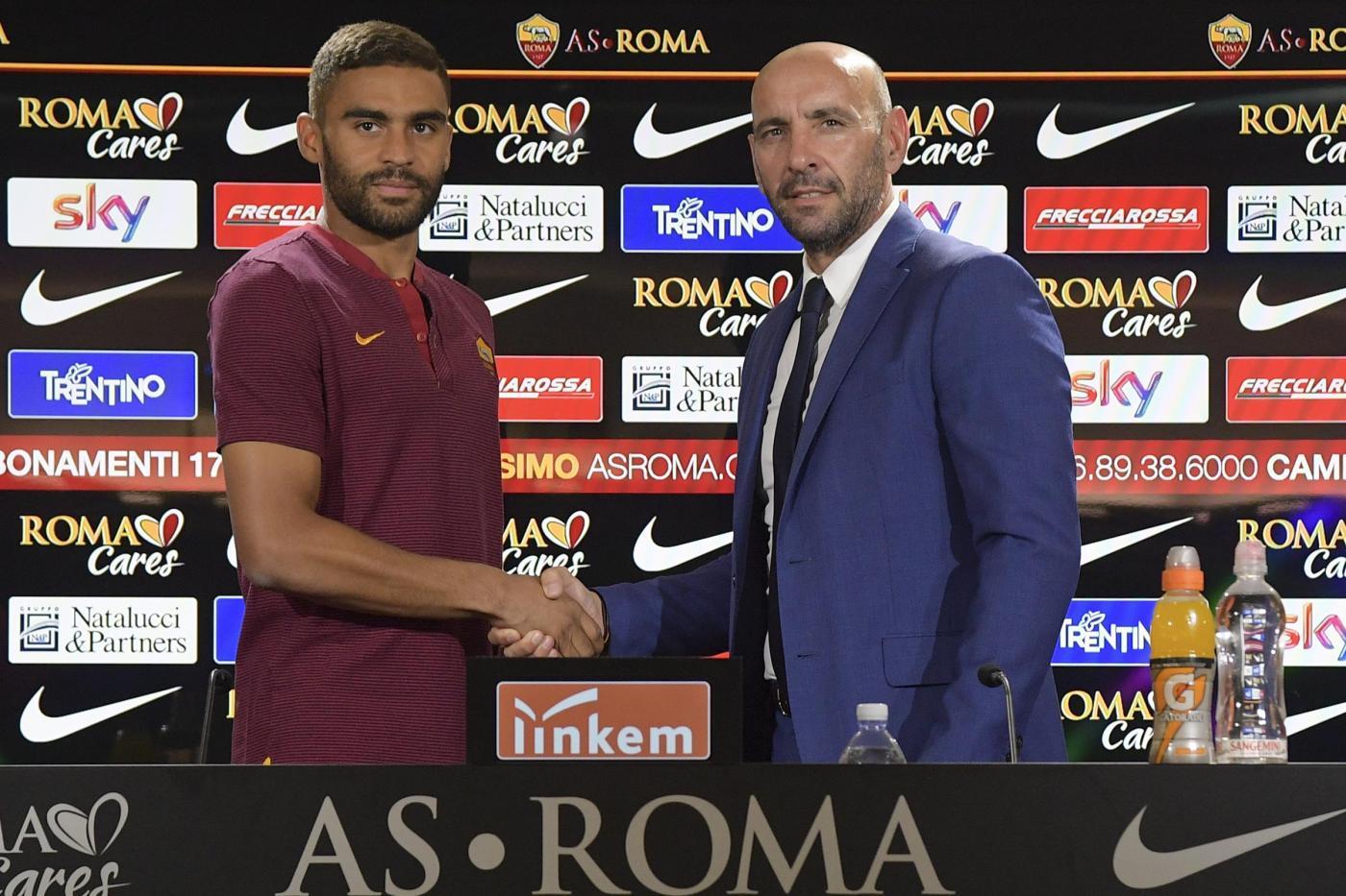 Roma, presentato Defrel:
