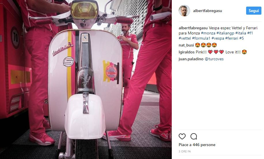 Vettel: «Innamorato delle Ferrari da sempre, dà sensazioni uniche»