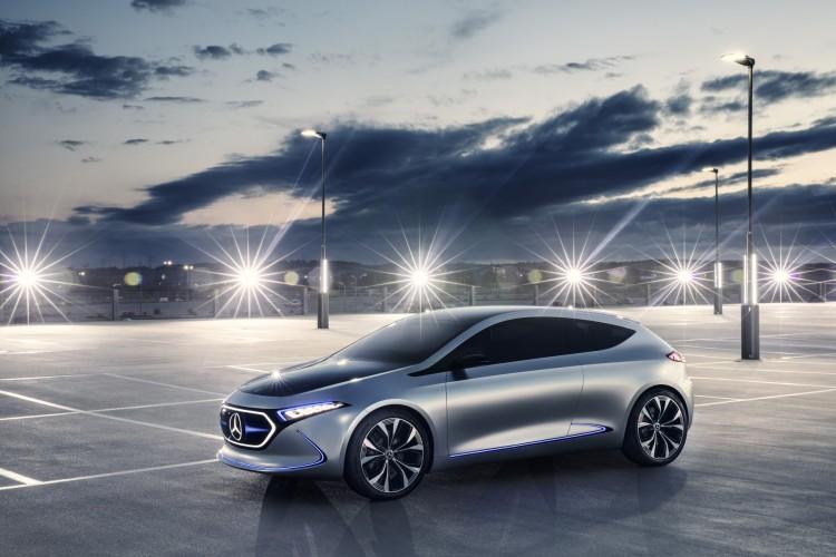 Mercedes EQ A concept, il futuro al Salone di Francoforte 2017