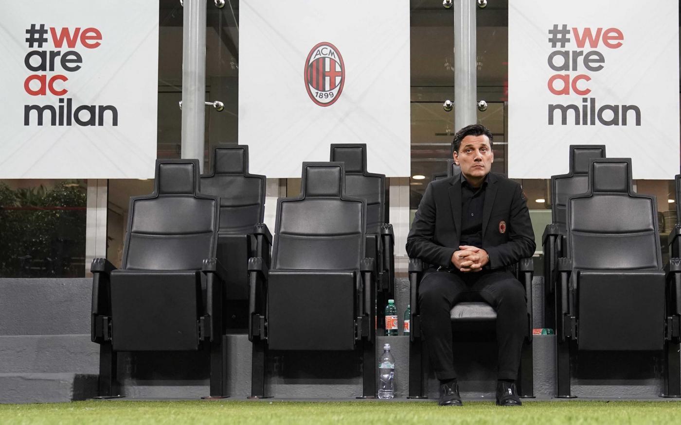 Milan-SPAL, Montella contento a metà: