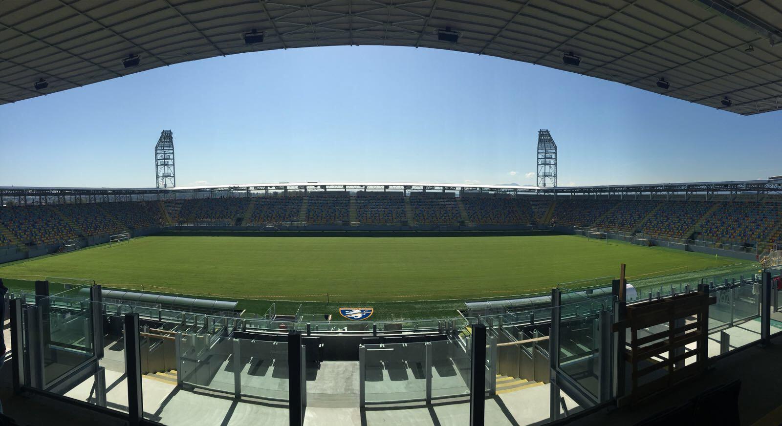 Inaugurazione stadio Benito Stirpe: le parole di Luca Lotti