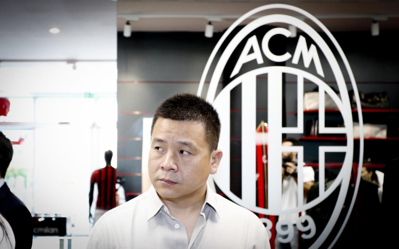 Yonghong Li cerca nuovi investitori! Il presidente guarda anche in Italia