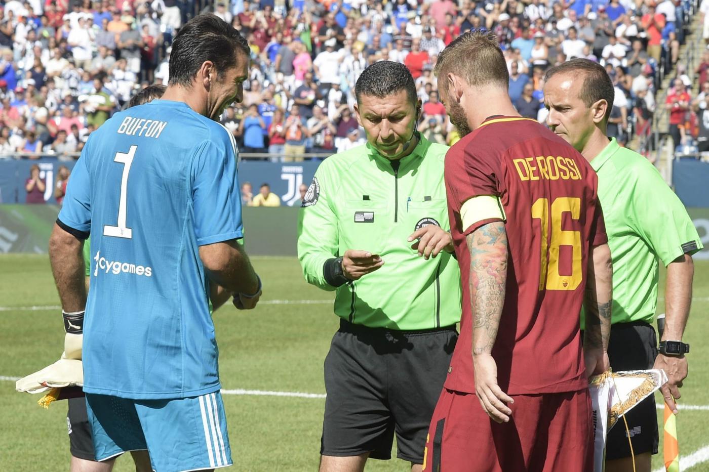 Che cosa faceva De Rossi quando Buffon esordiva in Nazionale