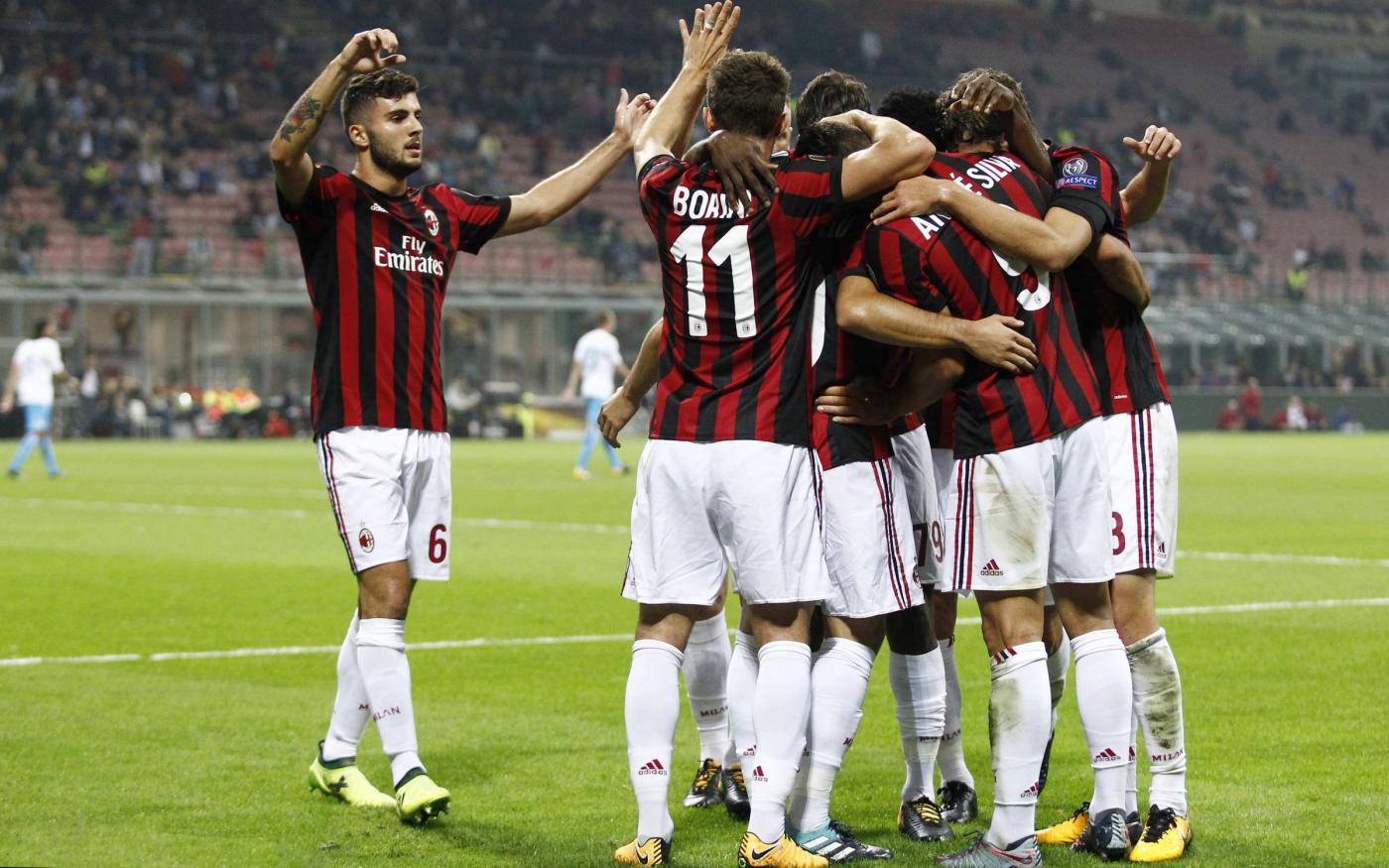 Europa League: Milan cerca la vittoria scacciacrisi, Lazio e Atalanta conferme