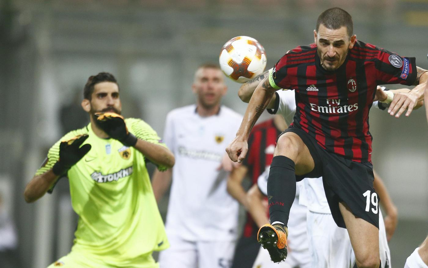 Milan-AEK Atene, Livaja: