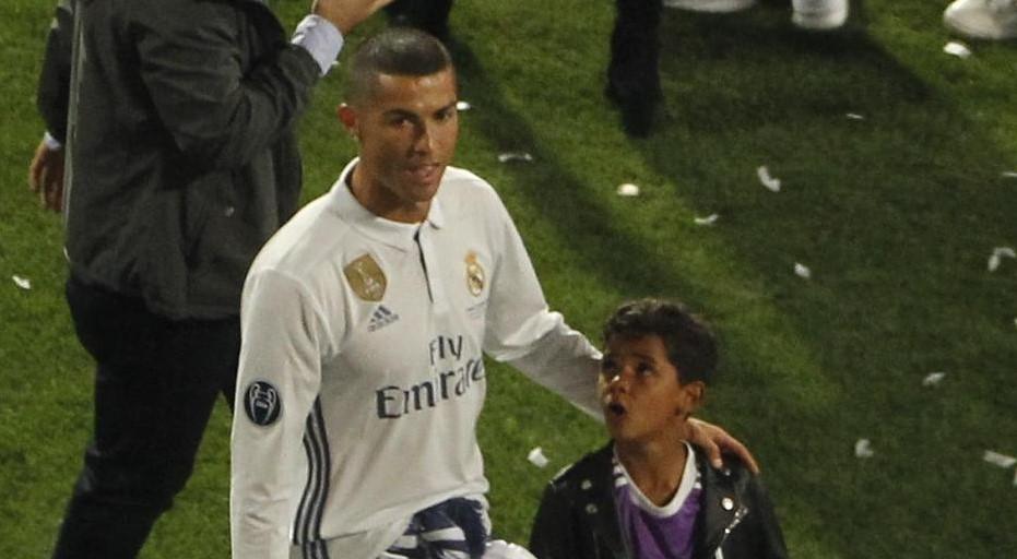 Cristiano Ronaldo al padre morto: