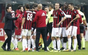 Delusione Milan