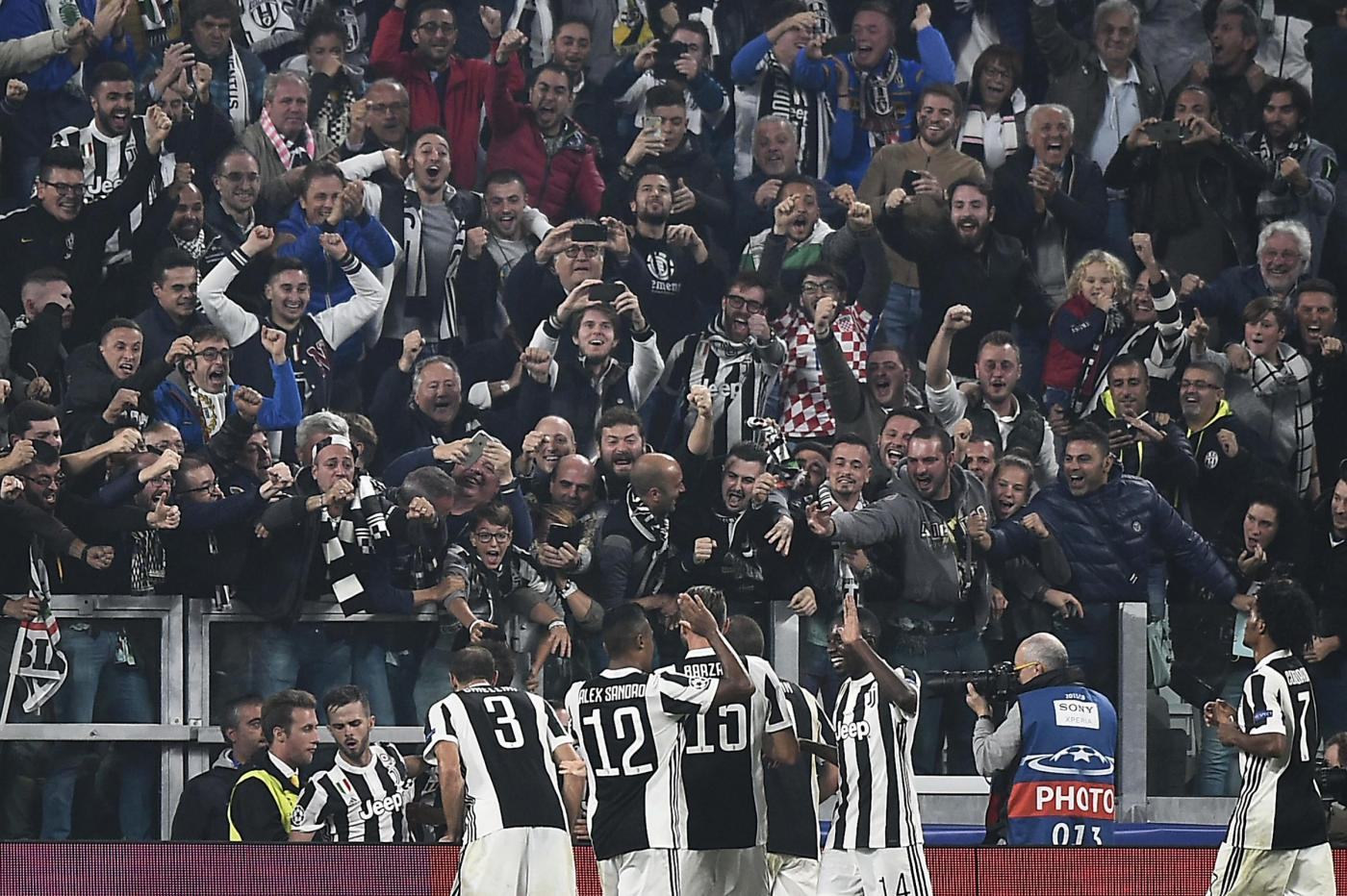 La Champions fa ricca la Juve: 110 milioni di ricavi