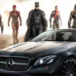 Mercedes Benz e justice league