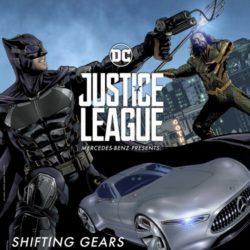 Mercedes-Benz justice league 12