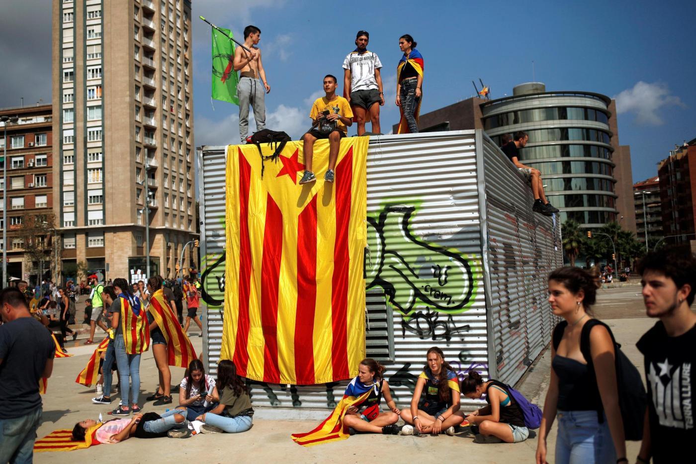 Catalogna, oggi sciopero generale Si ferma anche il 'Futbol Club Barcelona'