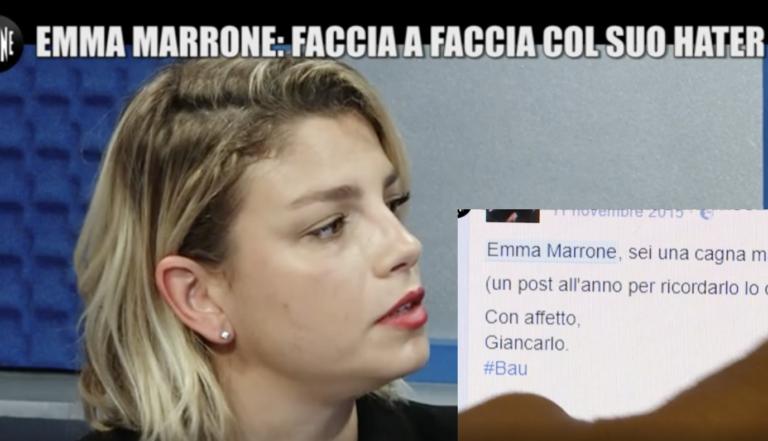 Le Iene - Emma Marrone: faccia a faccia con il suo hater