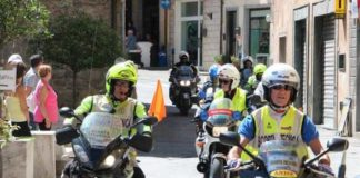 polizia stradale ciclismo