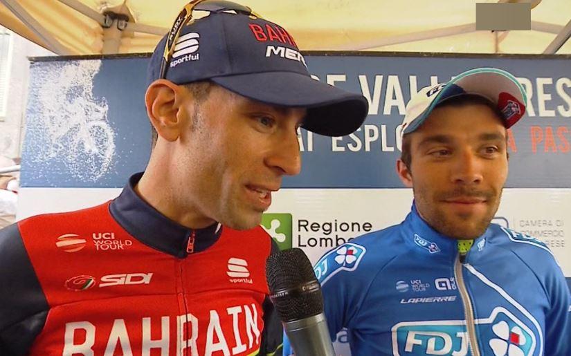Ciclismo, Nibali bruciato allo sprint nella Tre Valli Varesine
