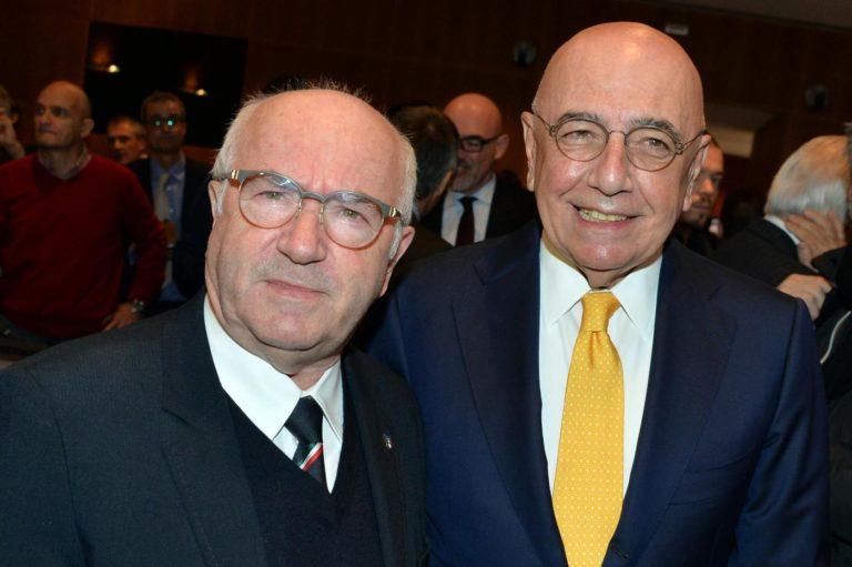 Galliani e Tavecchio - LaPresse/Gian Mattia D'Alberto