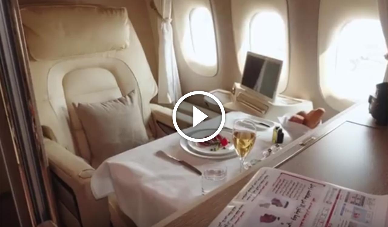 Emirates airlines tutti i segreti della prima classe da mille e una notte proposta a 7mila euro - Emirates airlines paris office ...