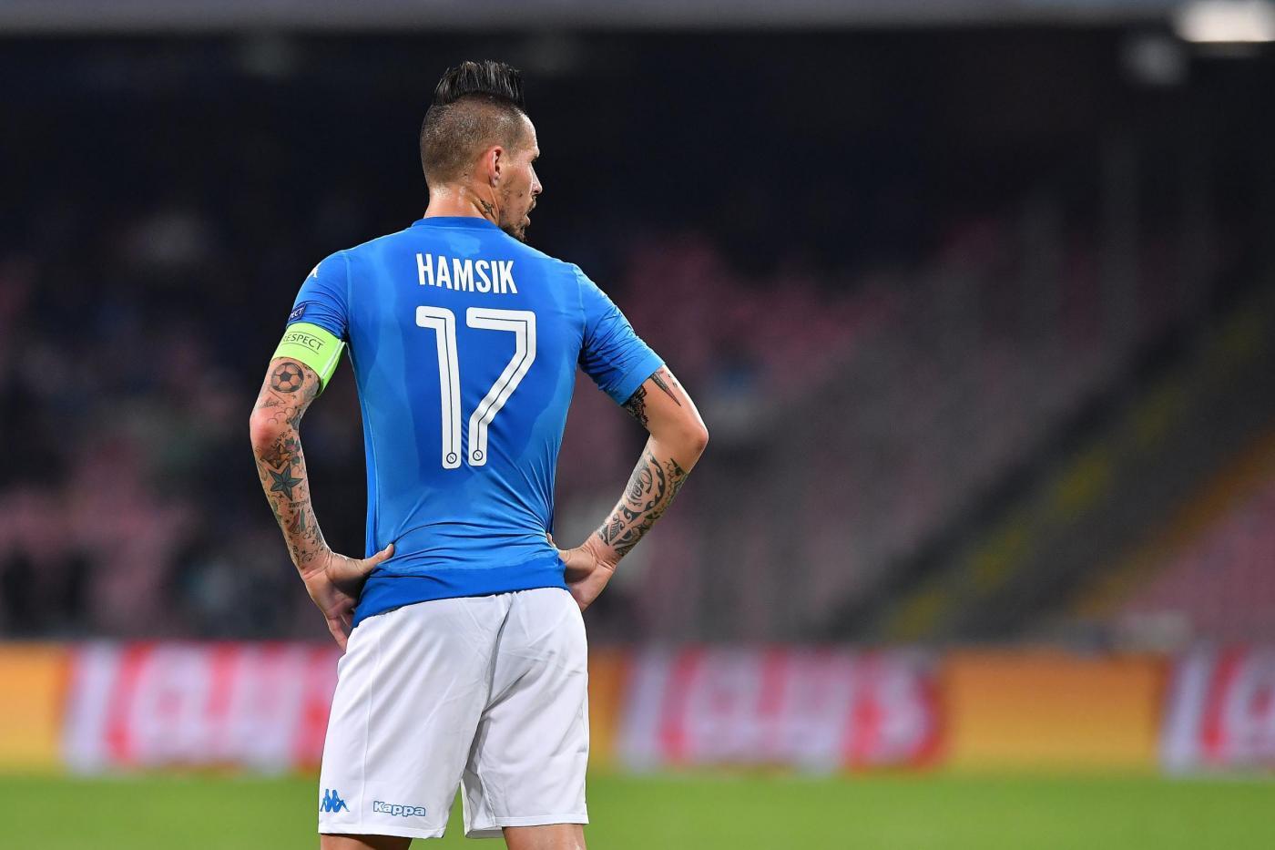 Napoli, Hamsik bacchetta l'Italia: