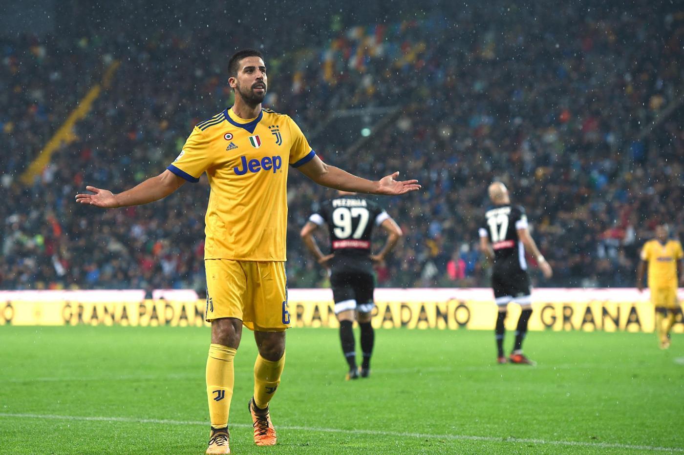 Juventus, Khedira non esclude l'addio