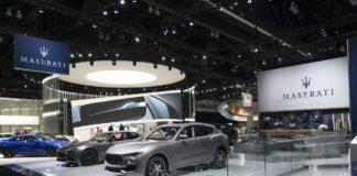 Maserati stand Los Angeles Auto Show