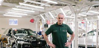 Mourinho Jaguar Land Rove