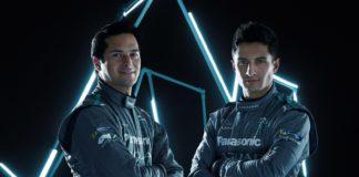 Panasonic Jaguar Racing Nelson Piquet Jr e Mitch Evans