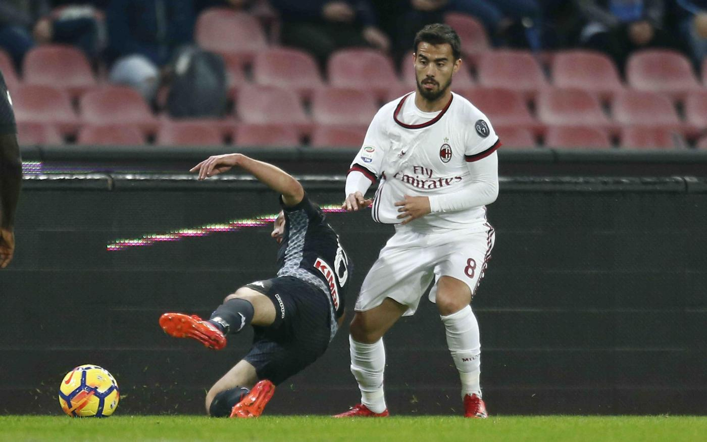 Milan, sospiro di sollievo: Suso rientra con il Torino