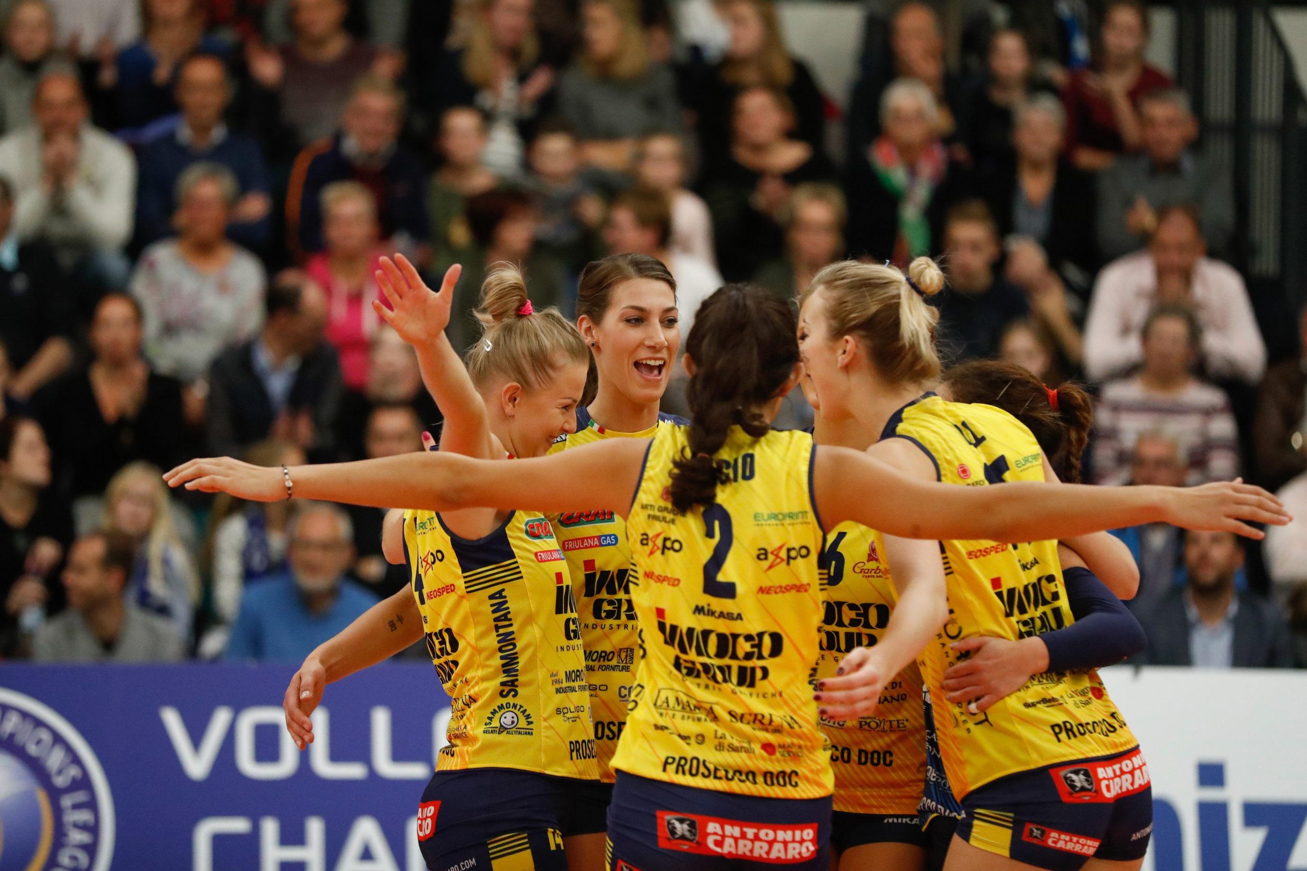 Volley femminile, Liu Jo: esordio ok per coach Fenoglio