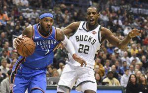 NBA – Milwaukee Bucks, infortunio alla gamba per Khris Middl