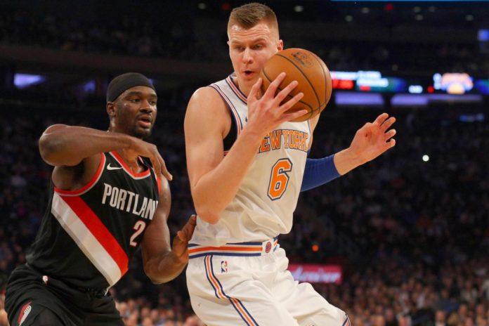 New York Knicks Porzingis