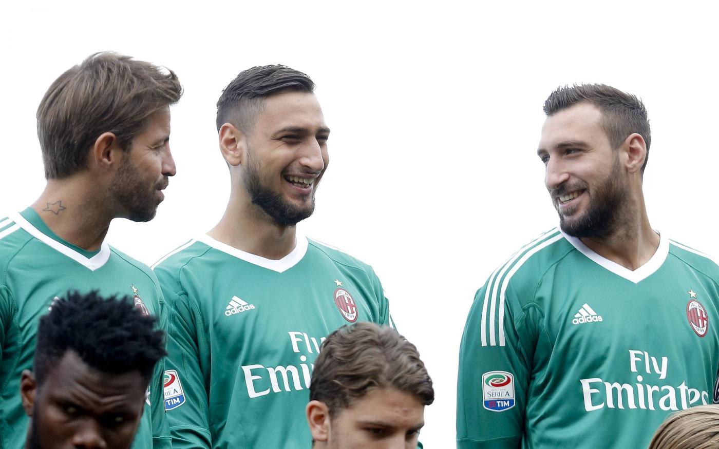 Milan, ancora Donnarumma: ma questa volta si chiama Antonio