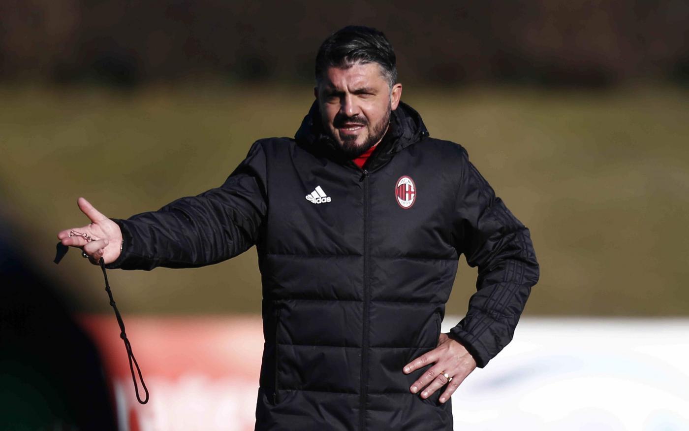 Milan, Gattuso puntualizza: