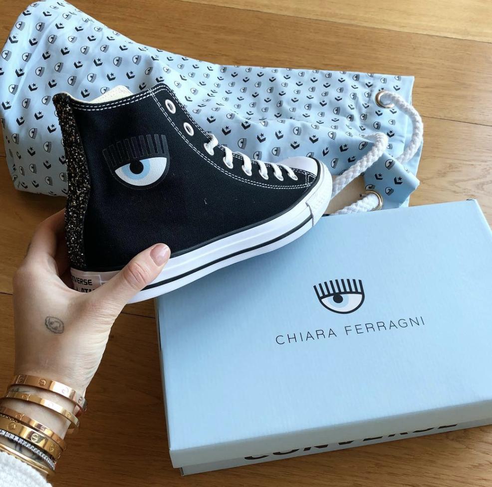 Converse X Chiara Ferragni - Le nuove sneakers della fashion ...
