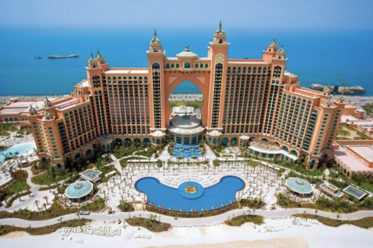 4) Atlantis The Palm, Dubai