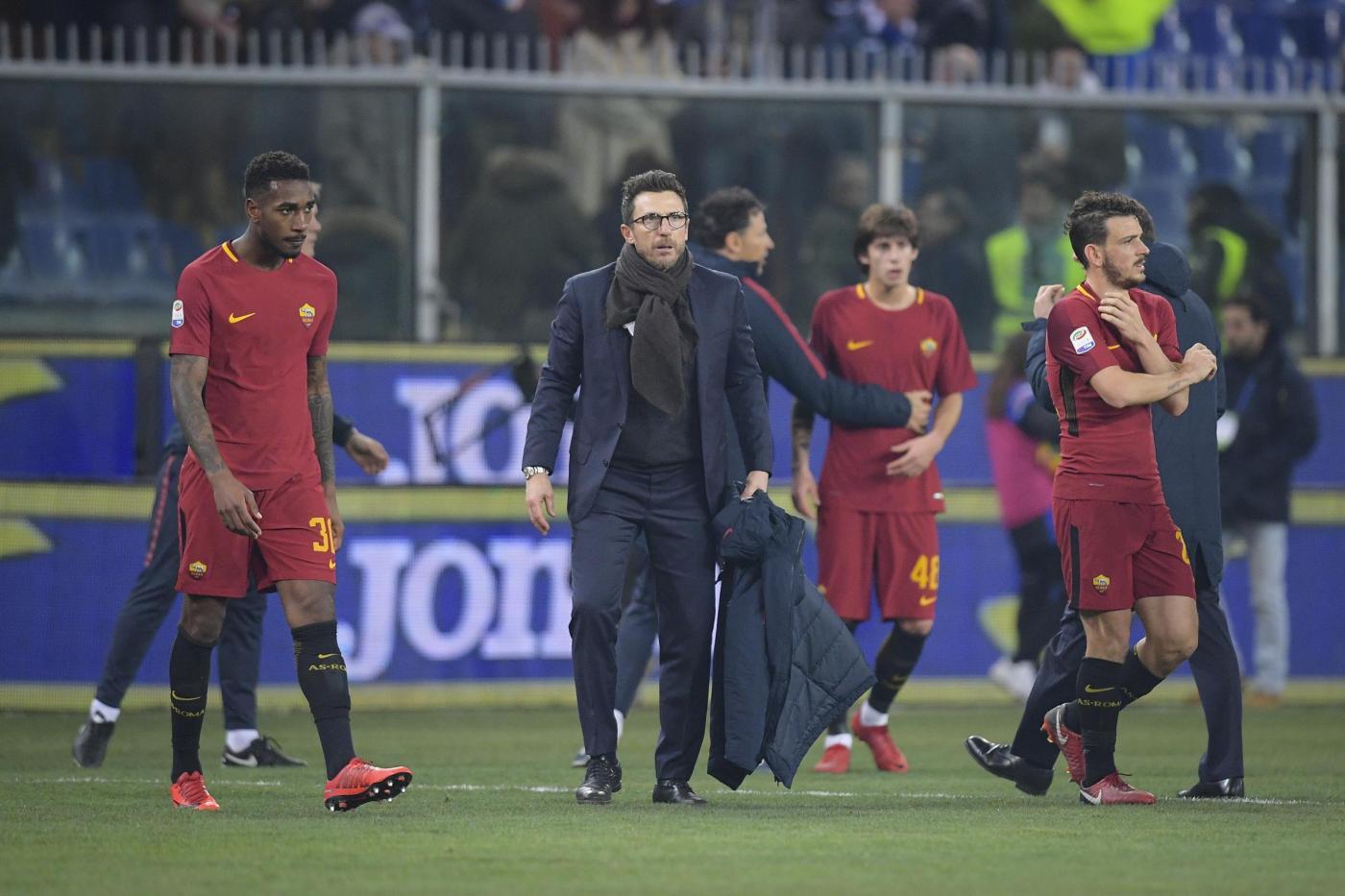 Sampdoria-Roma, Di Francesco: