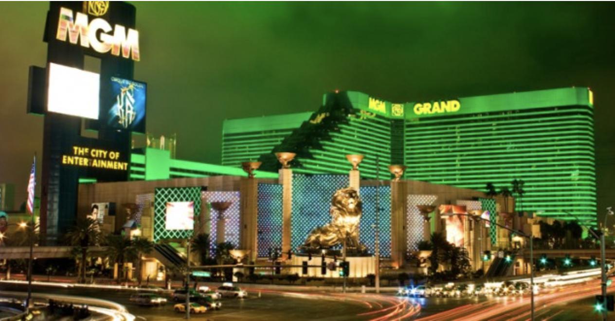 5) MGM Grand, Las Vegas USA