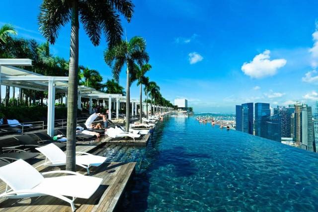 1) Marina Bay Sands, Singapore
