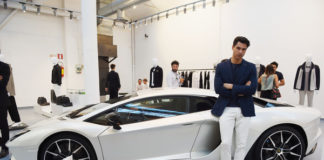 Milano Fashion Week lamborgini