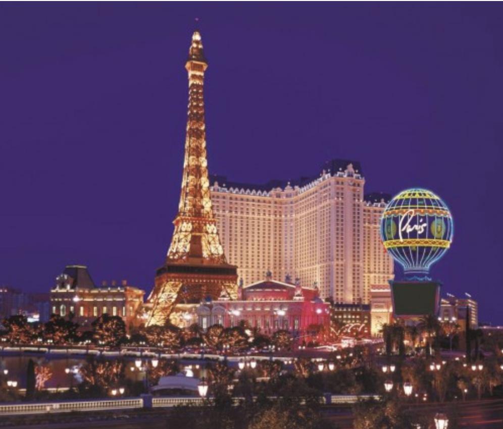 10) Paris Hotel & Casino, Las Vegas USA