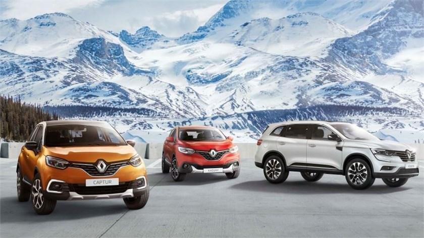Renault Winter Tour