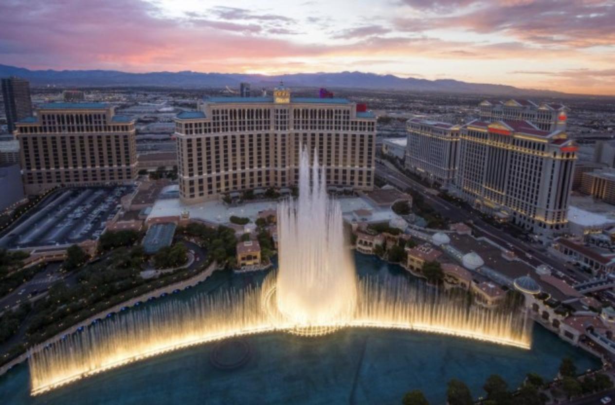 2) The Bellagio, Las Vegas USA
