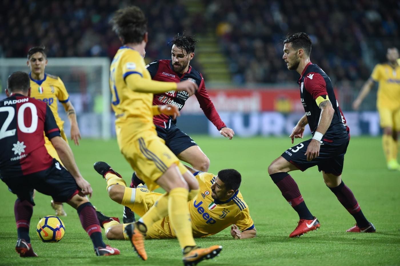 La Juve soffre, ma espugna il campo del Cagliari
