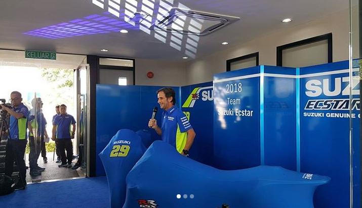 Ecco la nuova Suzuki, Iannone: Vogliamo lottare con i big