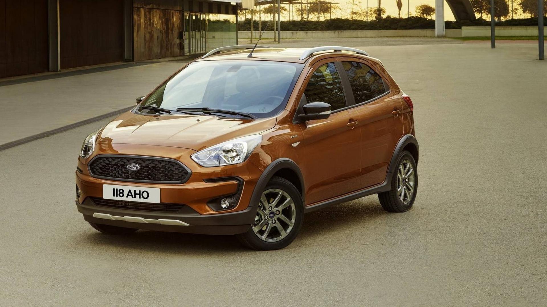 nuova ford ka  2018  debutta anche la versione active
