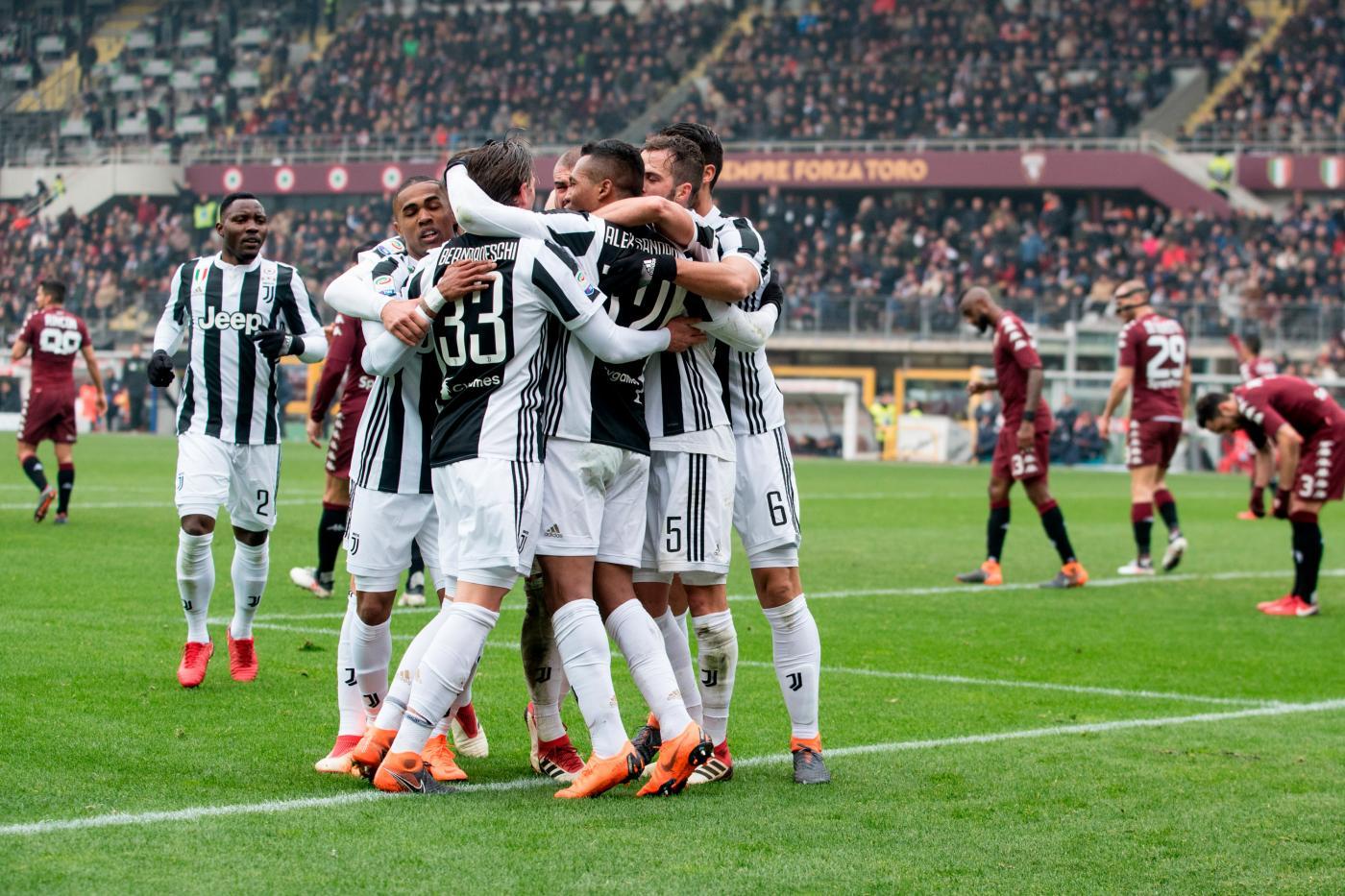 Torino-Juventus, Alex Sandro: