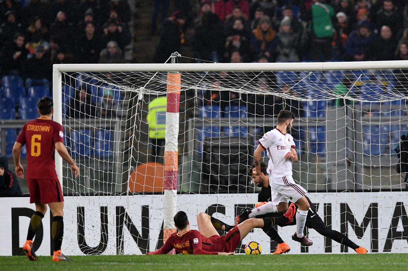 Roma-Milan, Franck Kessié: