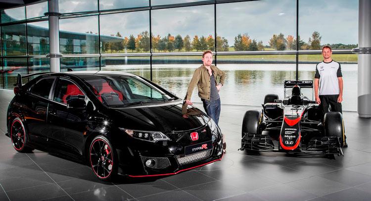 Honda Civic Type R Jenson Button