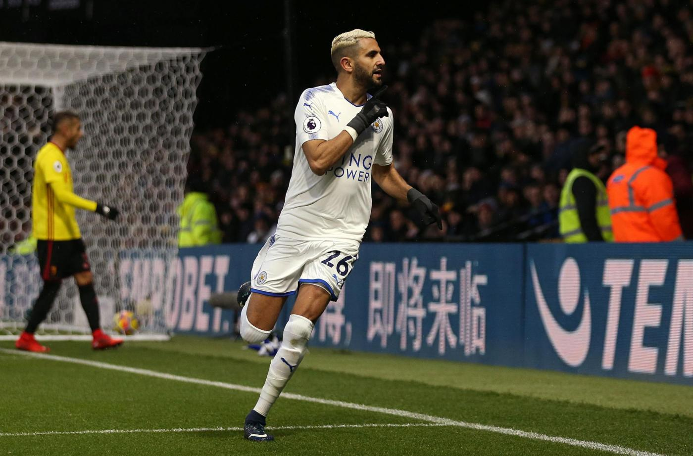 Leicester, Riyad Mahrez torna ad allenarsi: