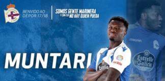 Muntari, ph twitter Deportivo