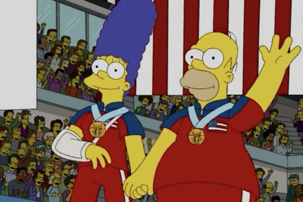 Simpsons-Curling