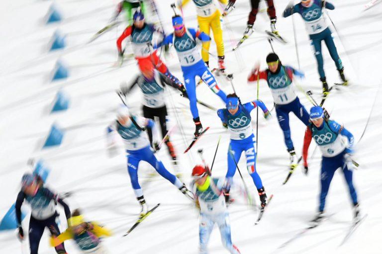 Biathlon Olimpiadi invernali 2018